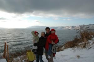 Enfin le lac Baikal