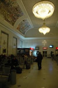 Salle attente gare Iekaterinburg