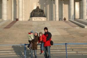 Quatuor au pied de Genghis Khan