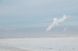 Brouillard de pollution sur Oulan Bator