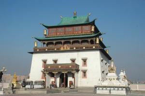 Monastère  bouddhiste de GANDANTEGCHINLEN KHIID