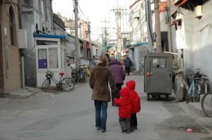 anciens Hutong de Pékin