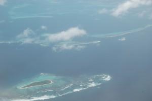 Ilots et barrières de corail proches de l'Ile des Pins