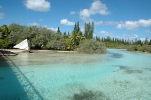 Entrée de l'hotel Méridien de la Baie d'Upi