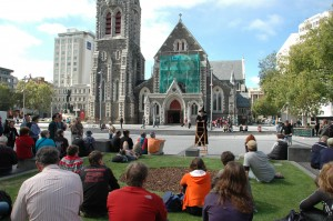 Christchurch, capitale de l'Ile du Sud