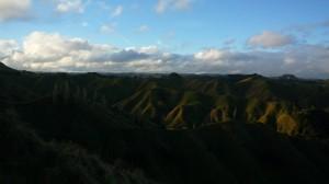 Paysage valloné entre le Taranaki et Tongariro