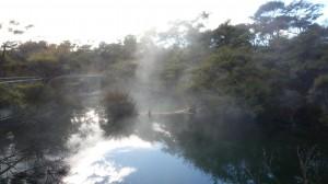 Source chaude de Turangi