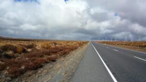 La route du desert