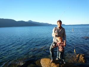 Victoire, premier poisson de Manao!!!
