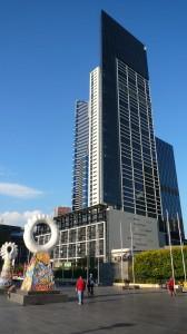 Tour dans laquelle nous sommes accueillis au 47e  etage