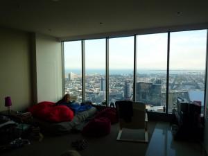 vue de l appartement du 47e