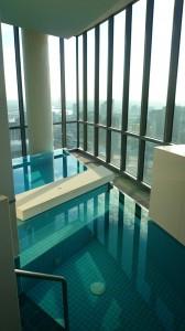 Spa et piscine du 40e