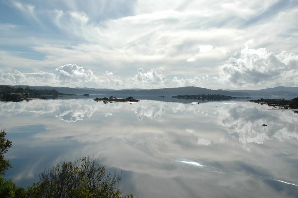 Miroir dans la baie de Mallacoota