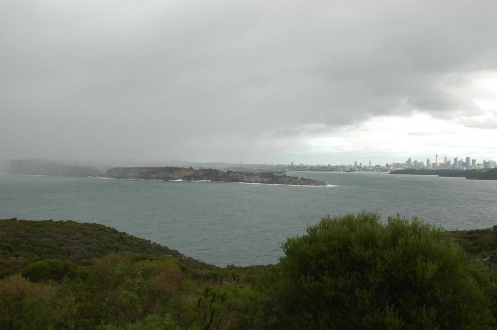 Entrée de la baie de Sydney