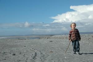 Manao sur la plage de Greymouth