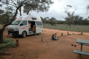 Campement de Mungo