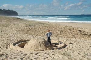 Chateau de sable ou Saturne???