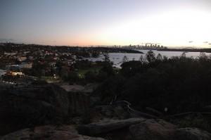 Sydney en fin de journée