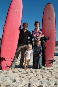 Belle équipe à la découverte des vagues mythiques de Bondi Beach