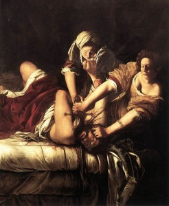 Artemisia Gentileschi, Judith tranchant la tête d'Holopherne, 1620