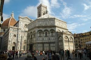 Baptistère et Duomo de Florence