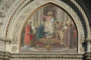 Décoration extérieure du Duomo
