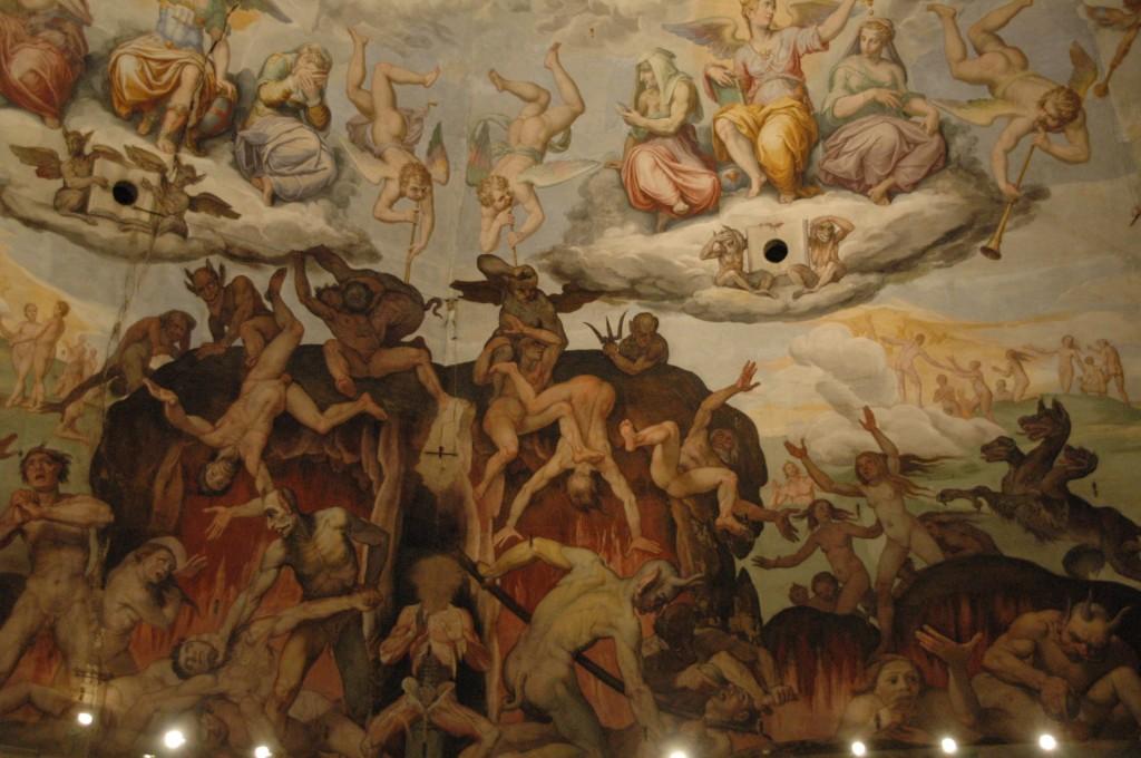 Une scène où contraste les Cieux et les Bas fonds
