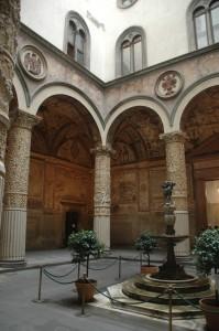 Cour intérieure du Palazio Vecchio