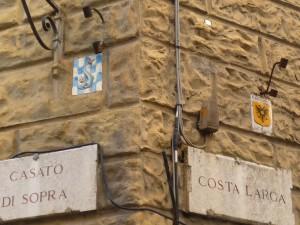 Blasons des paroisses de Sienne