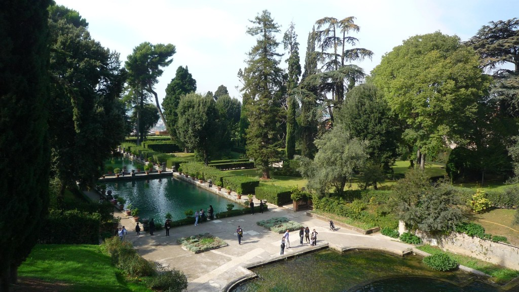 Parc de la Villa d'Este à Tivoli