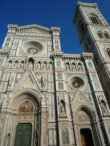 Façade du Duomo et Campanil