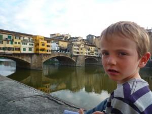Manao et le Ponte Vecchio
