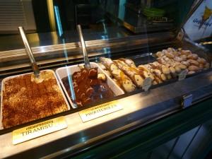 Buffet de desserts alléchants...
