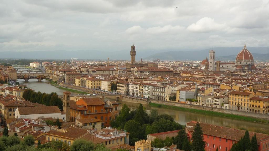 Superbe vue depuis la Piazzale Michelangiolo